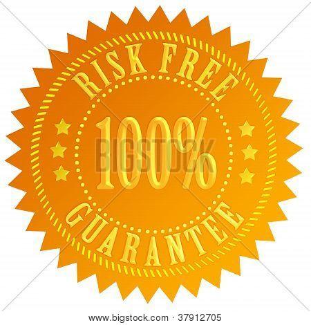 Risk free guarantee icon