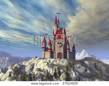 fairytale castle