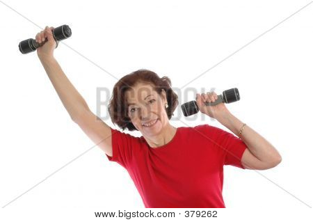 Woman Exercising 868