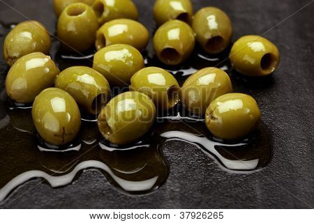 Fresh Olives In Oil