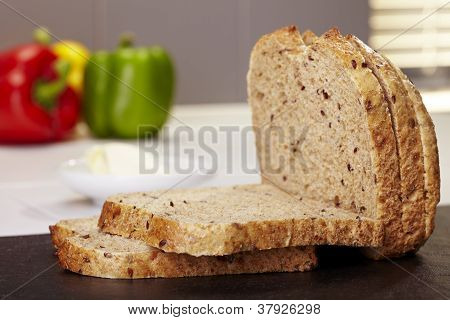 Fresh Cut Bread