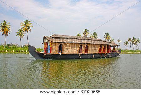 Palms and Kerala backwaters