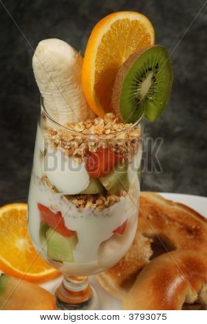 Fruit And Yogurt
