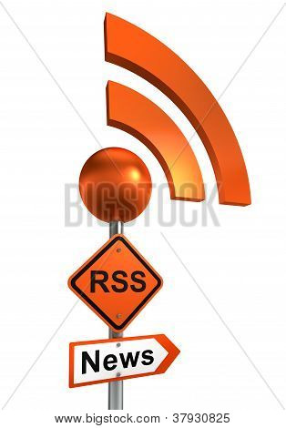 Rss Road Sign
