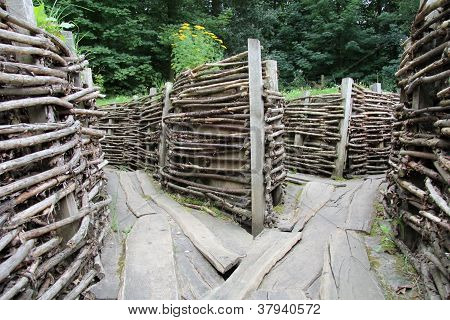 Bayernwald German Trenches (WWI)