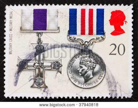 Postage stamp GB 1990 Military Cross