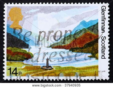 Postage stamp GB 1981 Glenfinnan Highlands,Scotland