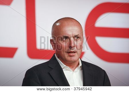 San Francisco, Ca, Oct 3, 2012 - Oracle  Senior Vice President Anthony Lye Makes Speech At Openworld