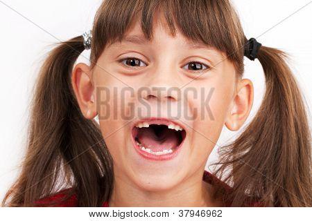 Cheerful Cute Girl