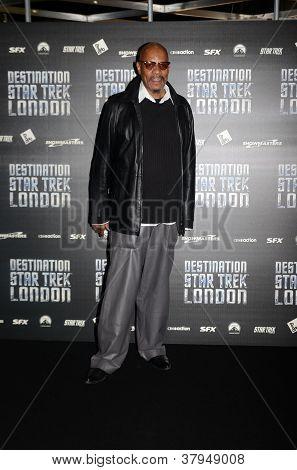 Avery Brook At Destination Star Trek In  London Docklands 19Th October 2012