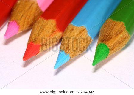 彩色的铅笔