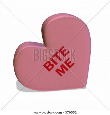 Conversation Heart - Bite Me
