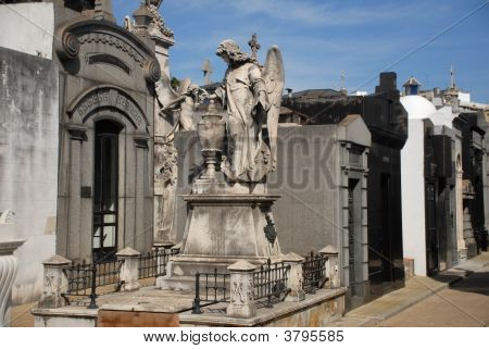Mausoleums. Recoleta Cemetary, Buenos Aires. Argentina.