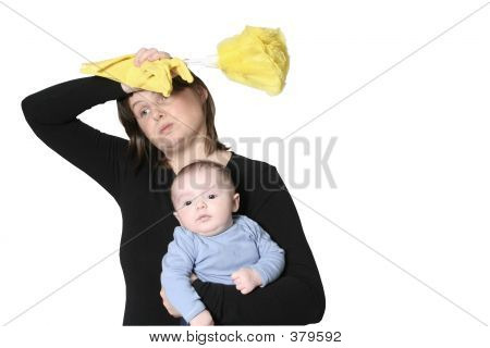 Housewife With Baby