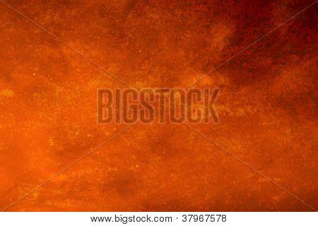 Orange Marble Grunge