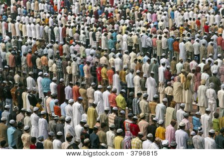 Prayers At Islamic Festival