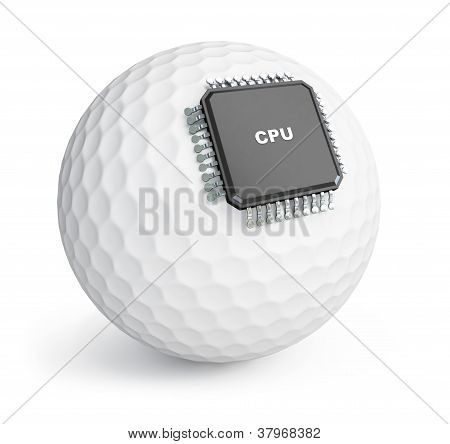 Golf Ball Microchip