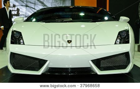 A Lamborghini Gallardo Lp560 Spyder