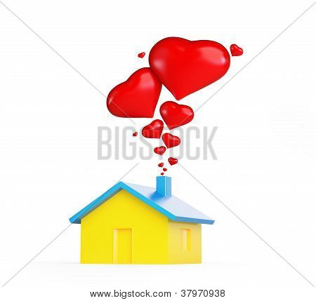 Home Love Heart