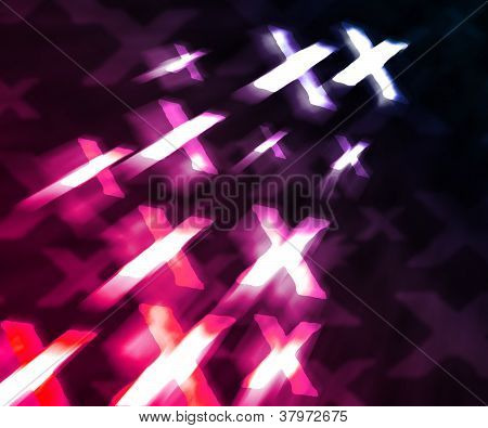 Pink XXX Abstract Background