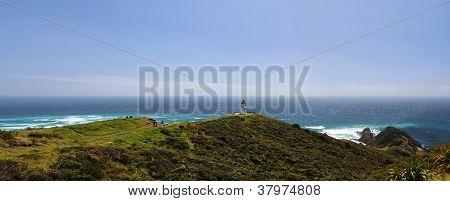 Cape Reinga Lighthouse Panorama 1