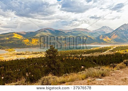 Autumn Colors In Twin Lakes, Colorado