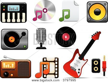 Music Icon Set One