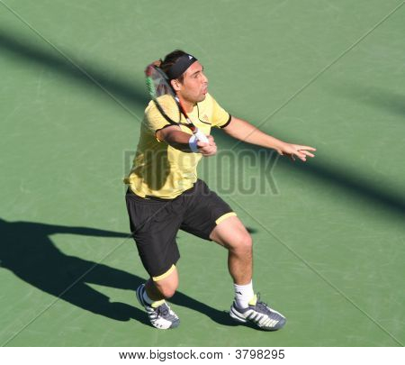 Marcos Baghdatis At Pacific Life Open