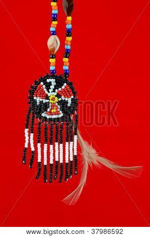 Beaded Thunderbird Symbol