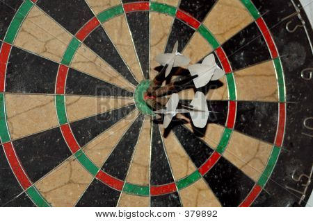 4darts In Board Closeup