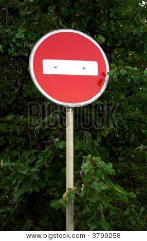 Forbidden Traffic Sign