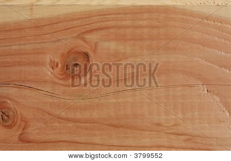 Close Up Of Wood Grain For Background