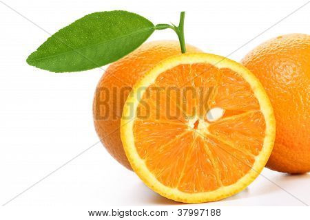 Fresh Orange's And Slice