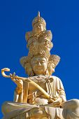 image of emei  - The faces of Golden Buddha of Emei in Sichuan - JPG