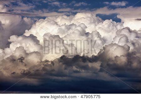 Nuvens majestosas