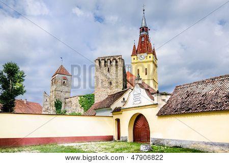 Old Church in Cristian, Brasov,Romania