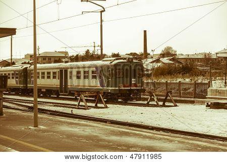 Decommissioned Train