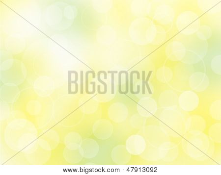 Vector background with defocused lights