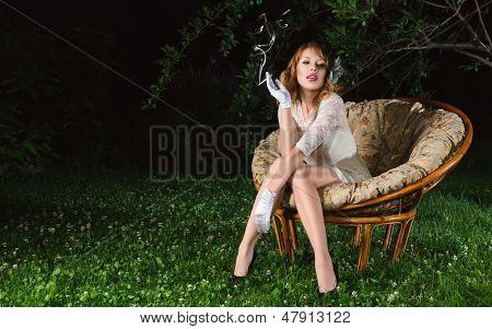 Young Woman Fashion Portrait
