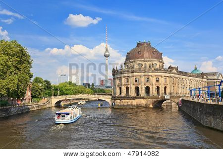 Bode Museum on museum island Berlin Germany