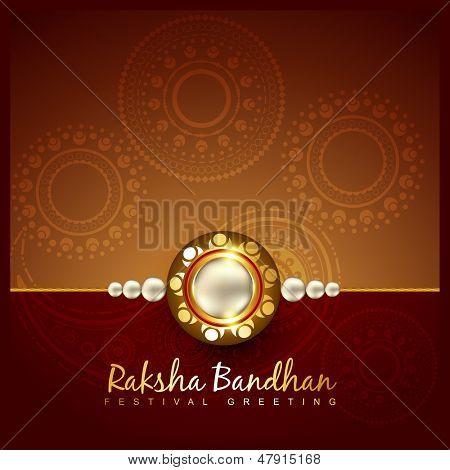vector raksha bandhan festival background design