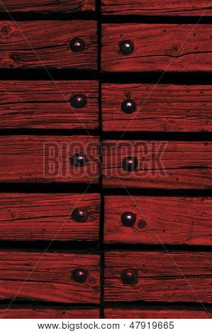 Wood With Rivets