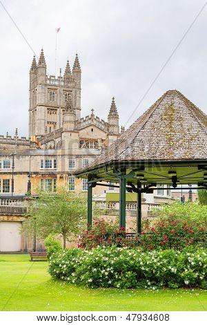 Parade Gardens. Bath, England