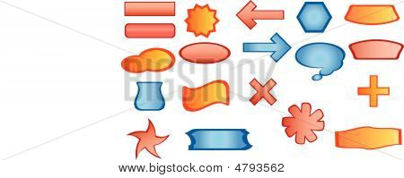 Buttons In Vector Format