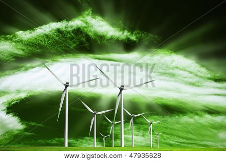 Alternative ecological source of energy