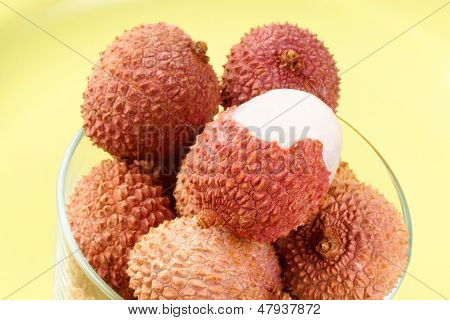 Litchis Or Lychees