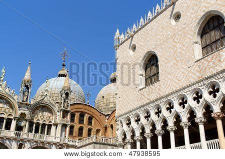 Palazzo Ducale And Basilica Of Saint Mark, Venice