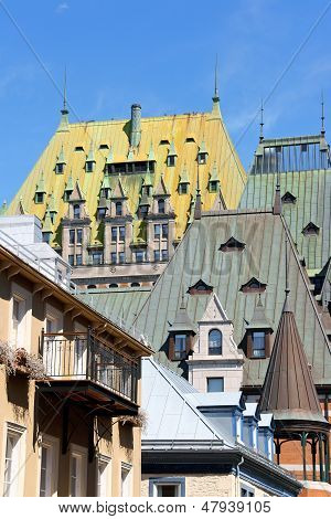 Glimpse Of Old Quebec City, Canada