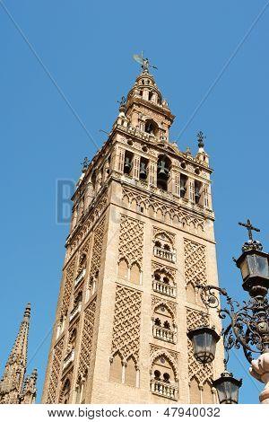 La Giralda Tower In Seville, Spain