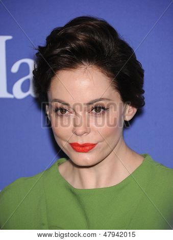 LOS ANGELES - JUN 12:  Rose McGowan arrives to the Women In Film's 2013 Crystal + Lucy Awards  on June 12,2013 in Beverly Hills, CA